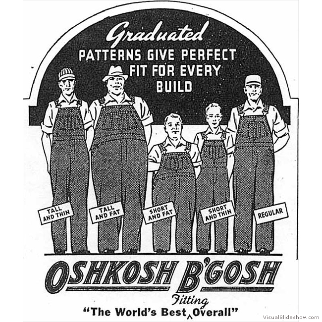 Old Ads you'll never see again!!<br/>Oshkosh B'gosh