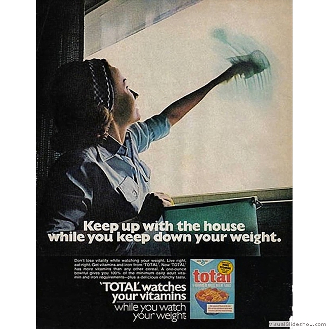 Old Ads you'll never see again!!<br/>Total cereal