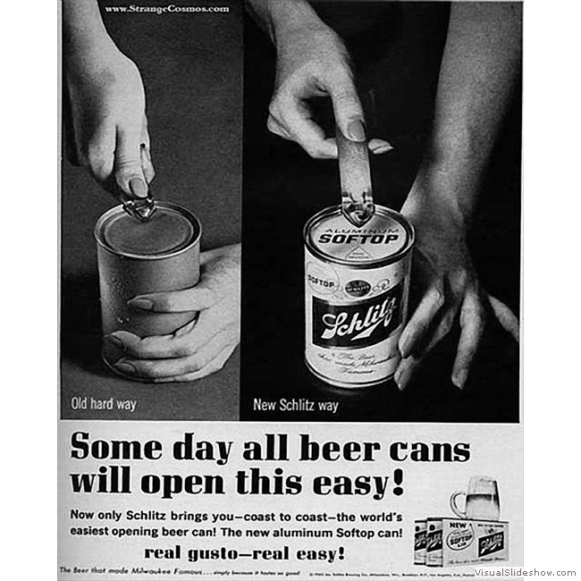 Old Ads you'll never see again!!<br/>Schlitz Beer