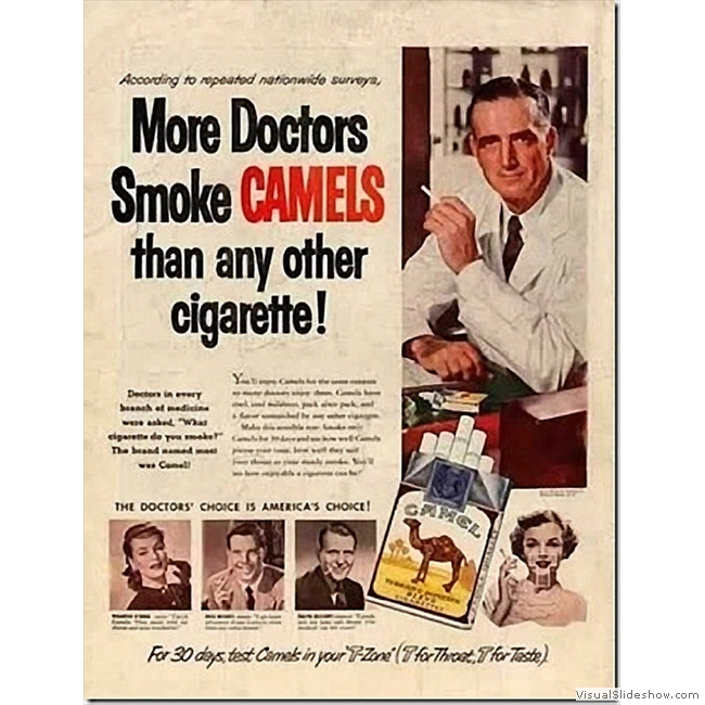 Old Ads you'll never see again!!<br/>Camel cigarettes