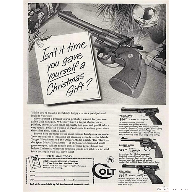 Old Ads you'll never see again!!<br/>Colt Revolvers